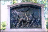 Memorial to 54th Mass Regiment on Beacon Hill - immortalized in Glory (1989)