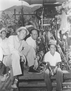 John Huston directing Treasure of the Sierra Madre (1948)