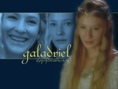 Right.  Like this was gonna be any other picture than her as Galadriel.  Have you seen my other posts recently?