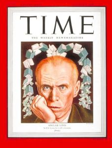 Sinclair Lewis is king of the second 100, with four books.  He is on the cover of Time Magazine, 15 years after winning the Nobel Prize.  Have you ever read anything by him?