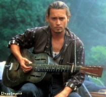 """Johnny Depp as the river rat, a little bit of rebel, a little bit of romantic lead, all of Johnny."""